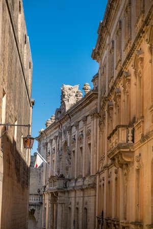 Street of Mdina, Malta, Europe, mediterranean