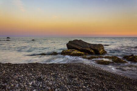 landsape: Sunset landsape Stock Photo