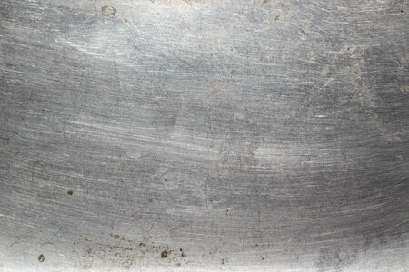 armour plating: Scratched metal bright texture background clouseup Stock Photo