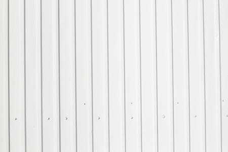 galvanize: White Corrugated metal texture surface background or galvanize steel background