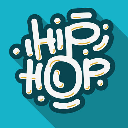 Hip Hop Lettering Custom Type Design.