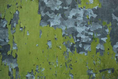 Metal Pilling Paint Surface Texture Background Photo Shot.