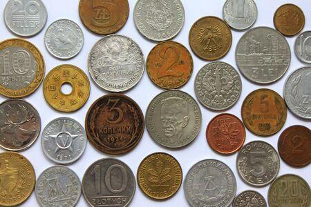 numismatics: Ancient coins Stock Photo