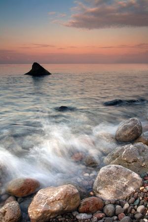 Morning in shark bay photo
