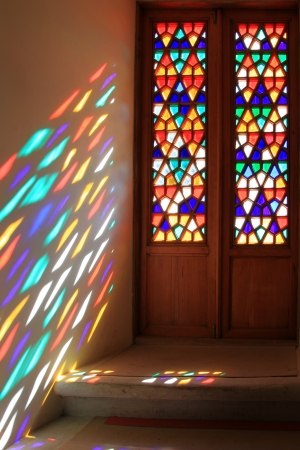 stained glass windows: Stained-glass window