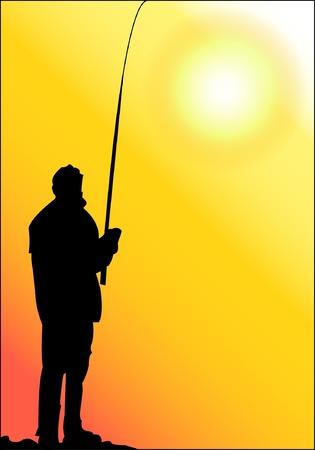 Fishing  Иллюстрация