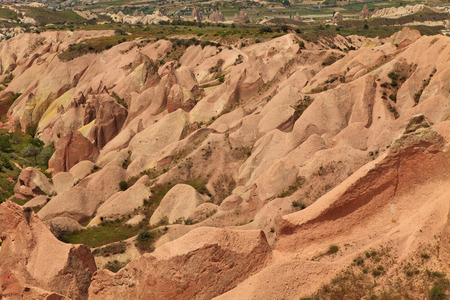 Rose Valley in Cappadocia photo