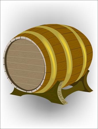 barre: Wooden wine barre