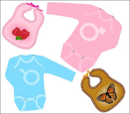 ropa de beb�: set de ropa de beb�