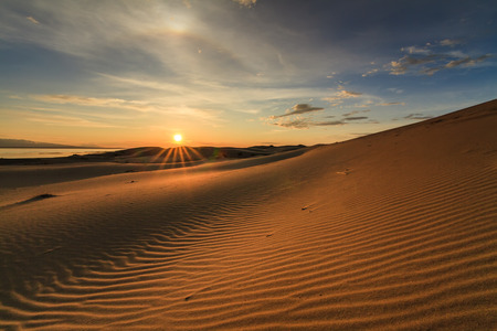 Beautiful views of the Gobi desert. Mongolia. Фото со стока - 43192217