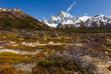 fitz: Landscapes of South Argentina. Fitz Roy. Patagonia.
