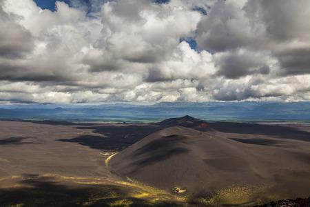 kamchatka: Breathtaking view of the landscape of the Kamchatka Peninsula