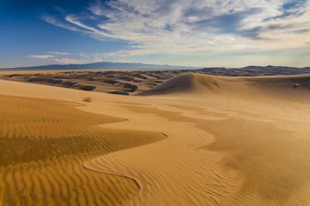 砂漠の風景の美しい景色。ゴビ砂漠。モンゴル国