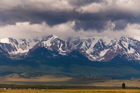 Russia, Altai mountains, Severo-Chui Range Stok Fotoğraf