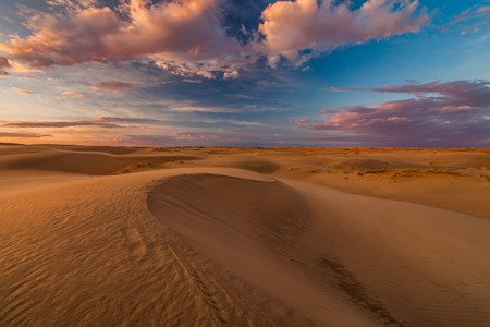 Beautiful views of the Gobi desert. Mongolia. Фото со стока - 91818291