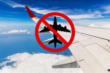 Travel ban. Quarantine countries and closing borders in the world. 版權商用圖片