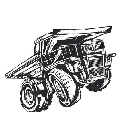 Illustration of dumper Illustration