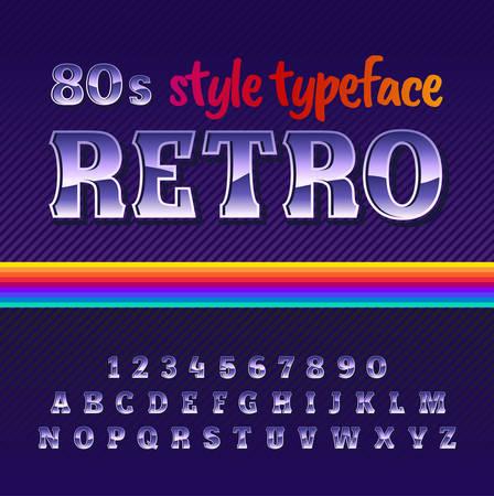Original label typeface named Retro. Good handcrafted font for any label design.
