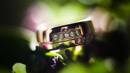wedding rings: wedding rings Stock Photo