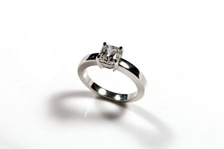 Diamond engagement ring Stock Photo - 1015129