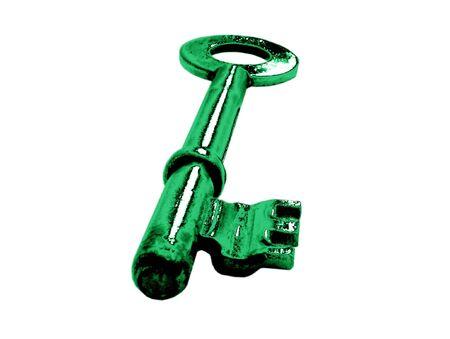 green key Stock Photo