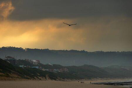 sunrise on a South African beach Stock Photo