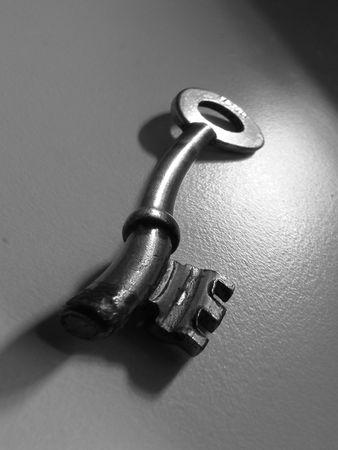 twisted door key