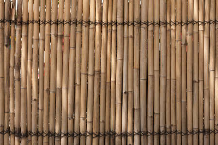 background of bamboo sticks and weave Stock Photo - 8889624