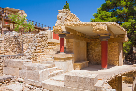 legendary: Ruins of Knossos - legendary palace of Minos.