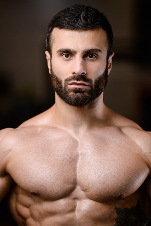 Handsome and sexy men