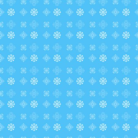 snowflakes wrapping paper blue background new year. vector work stock
