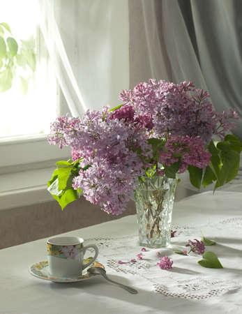 lilac: morning