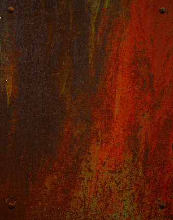 oxidated: rusty metallic background
