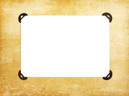 vintage blank page from photoalbum Stock Photo - 13151513