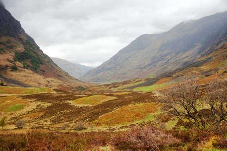 Glencoe. Overcast Day.May.  Scotland's Highland. UK Stock Photo - 14493734