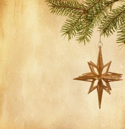 vintage papír textúrák karácsonyi dekoráció
