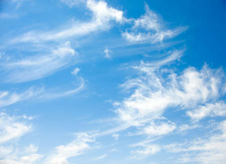 cirrus: blue sky and Cirrus clouds