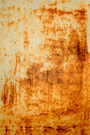 blasted: texture of old rusty metal surface