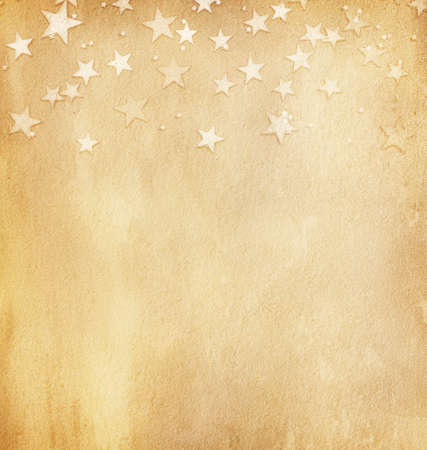 antique paper: vintage paper with stars