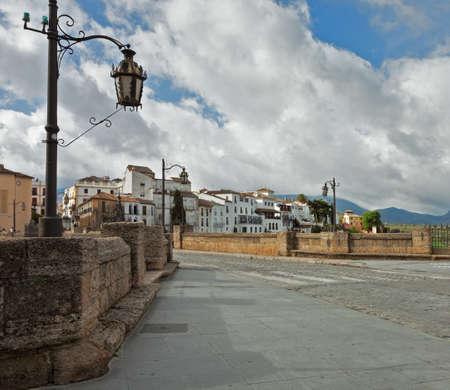 nuevo: The Puente Nuevo bridge in Ronda, Spain