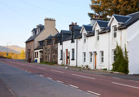 typically scottish: Evening in Strathyre, Scotland, UK   Strathyre  is a district and settlement in the Stirling local government district of Scotland