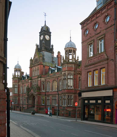 magistrates: Clifford Street, York, UK.   York Magistrates Stock Photo
