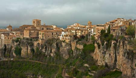 cuenca: Top view of the city. Cuenca, Spain