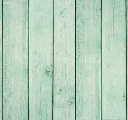 aquamarine: Old wooden board painted light green.