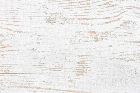 Oude houten plank met peeling verf. Grunge achtergrond. Stockfoto