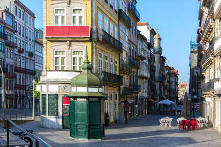 A street in the  old town of Porto (Ribeira district), Portugal.