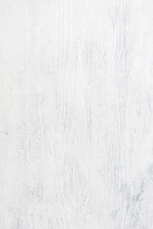 White wooden shabby background.  Top view. 免版税图像