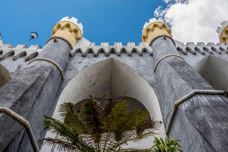 Detail of a bastion of the Palacio da Pena