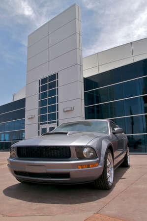 Car dealer ship. Stock Photo