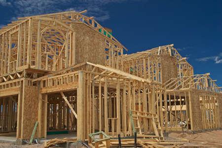 p�rim�tre: Construction de maison Banque d'images